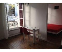 Location meublée appartement 2 pièces 32 m² Paris 19